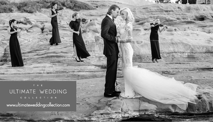 Ultimate Wedding Collection Luxury Wedding in La Jolla | Jana Williams Photography | Couture Wedding Dress Galia Lahav Gowns www.ultimateweddingcollection.com18