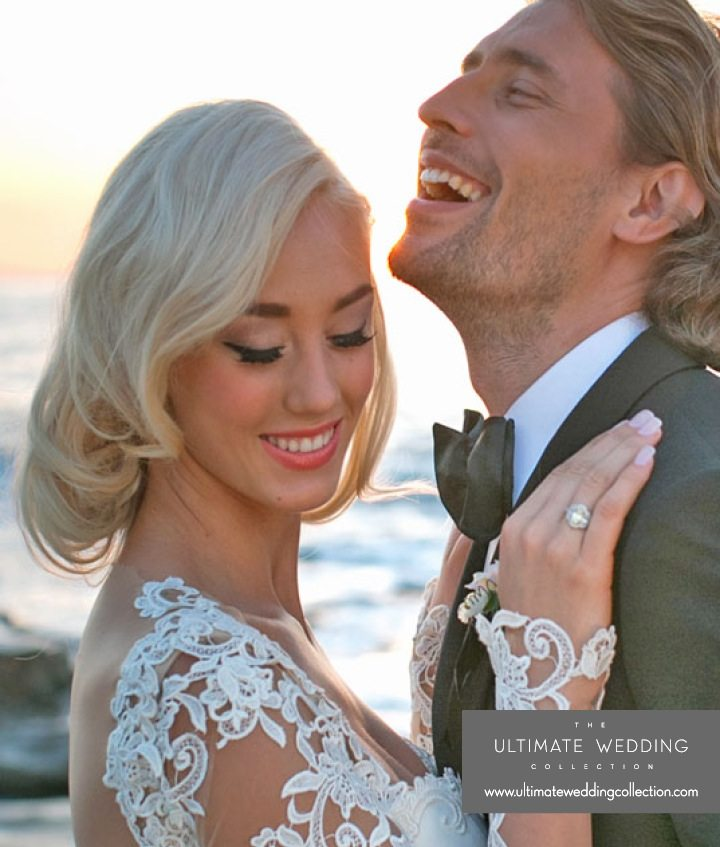 Vintage wedding hair and make up - Galia Lahav Gown