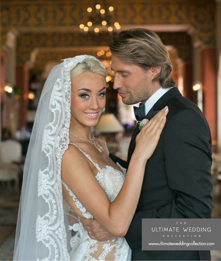 Beautiful Wedding Make Up - Galia Lahav Wedding Veil